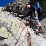 Kominek między przełęczą Zawrat a Świnicą - wrzesień 2009