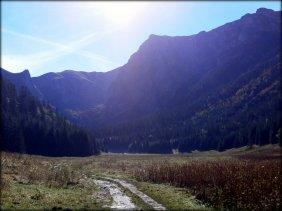 Dolina Małej Łąki - październik 2012
