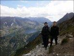 Na przełęczy Krzyżne (2112 m n.p.m.) - lipiec 2013