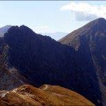 Wołowiec (2064 m n.p.m.) - spojrzenie na Rohacze - wrzesień 2012