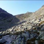 Kontrast światła i cienia w Dolinie Furkotnej - sierpień 2013