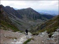 Zejście z przełęczy Krzyżne do Doliny Pańszczycy - 8 lipca 2013