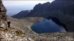 Wyższe partie Doliny Furkotnej z widocznym Wyżnim Wielkim Furkotnym Stawem - 8 sierpnia 2013