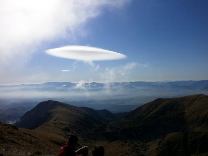 Altocumulus lenticularis – chmura UFO