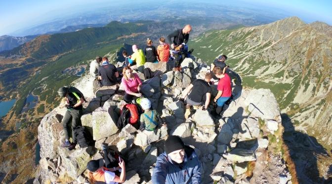 Zejście z Kościelca (fragment powyżej 2000 m n.p.m.) – 22.09.2020